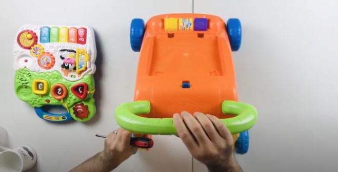Vtech Sit To Stand Learning Walker Assembly