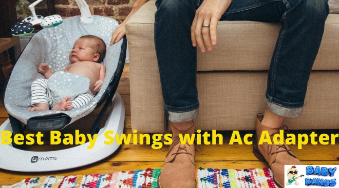 Baby Swings with AC Adapter