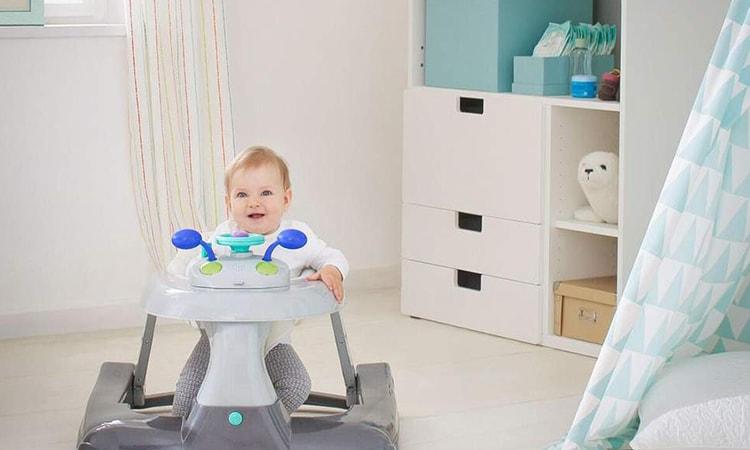 Baby jumper walker combo