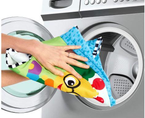 How to clean the baby Einstein jumper.