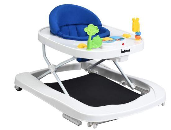 INFANS-Foldable-Baby-Walker-3-in-1-Toddler-Walker-Bouncer