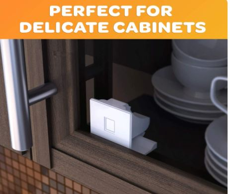 Jambini Magnetic Cabinet Locks for Baby Proofing