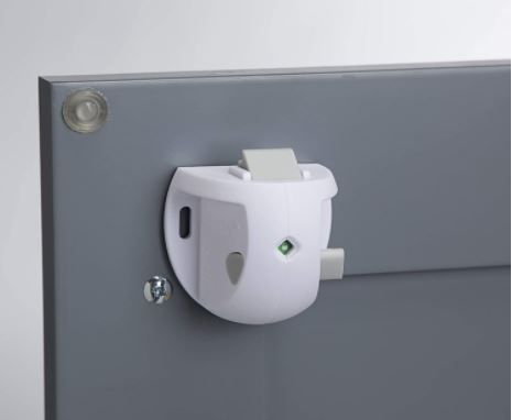 Safety 1ˢᵗ Adhesive Magnetic Lock to Baby Proof Drawers & Cabinets