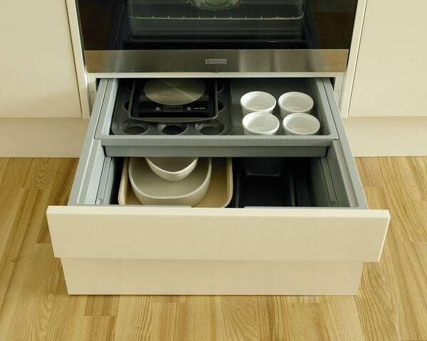 Oven Drawer With Non-harmful Stuff