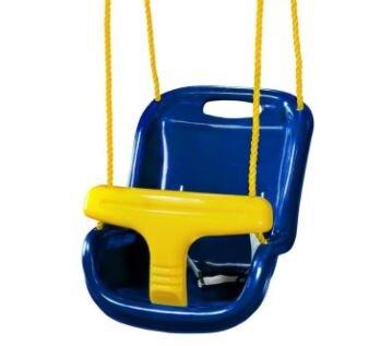 Gorilla Playsets blue baby swing