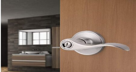 Bathroom lock